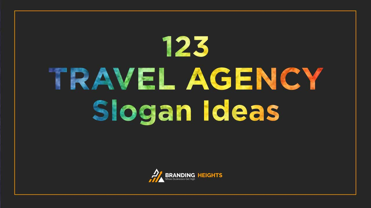 Travel Agency slogans
